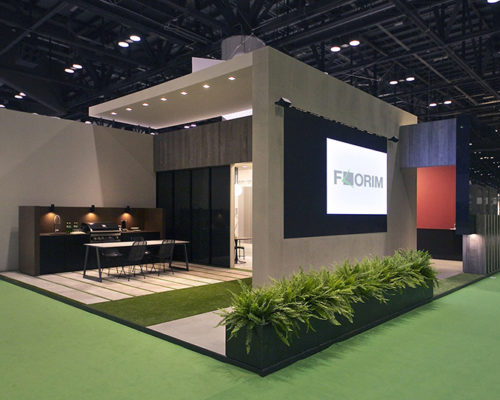 Artemide-Stand-Florim-Coverings-Orlando-Florida